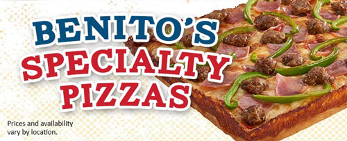 Benitos Specialty Pizzas